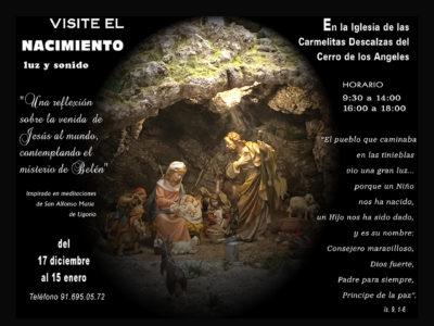 Belén de las Carmelitas Descalzas del Cerro de los Ángeles