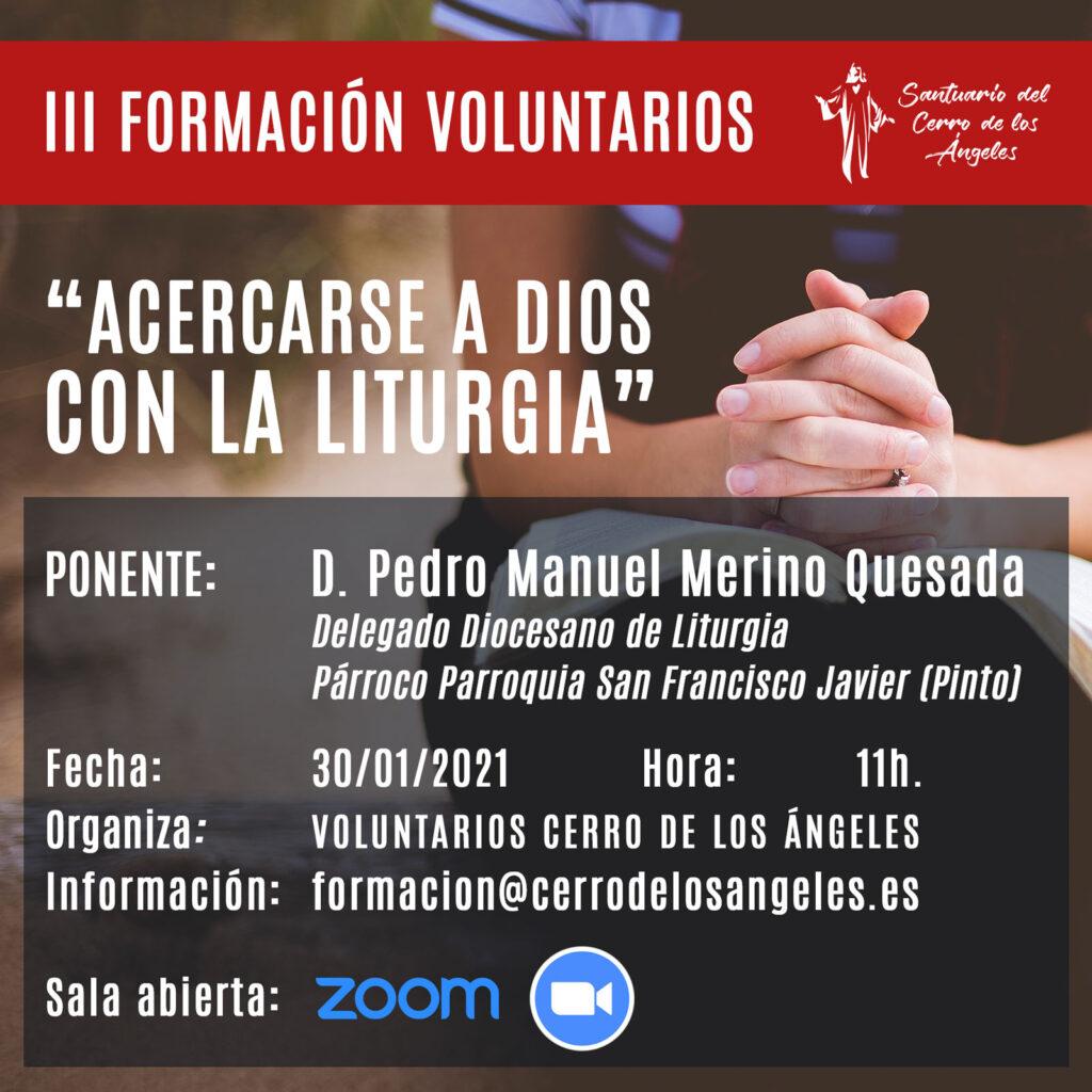 Formación Voluntarios Santuario del Cerro de los Ángeles
