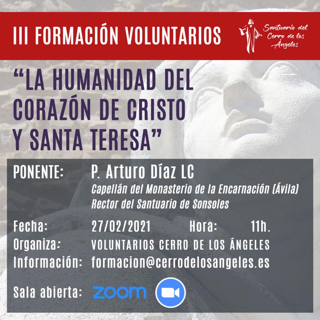 III FORMACION VOLUNTARIOS FEBRERO 2021