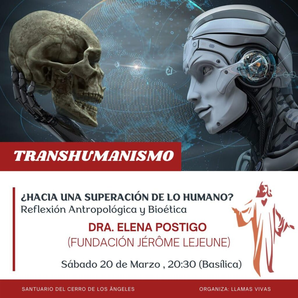 El transhumanismo evento en el Santuario Cerro de los Ángeles